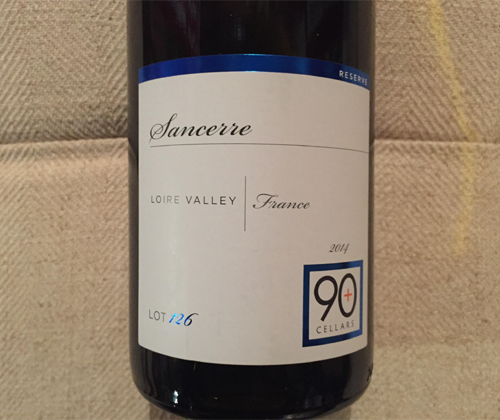 90+ Cellars Lot 126 Sancerre 2014