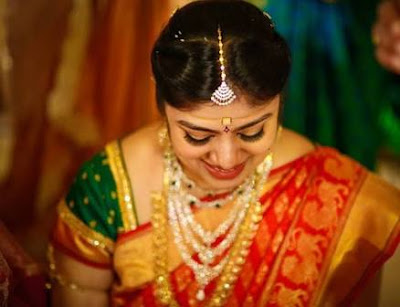 bejeweled Meghana sparkle in her bridal look