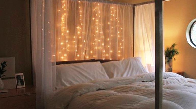 Ideas para decorar tu cuarto con luces aprende a decorar - Ideas para decorar habitacion ...