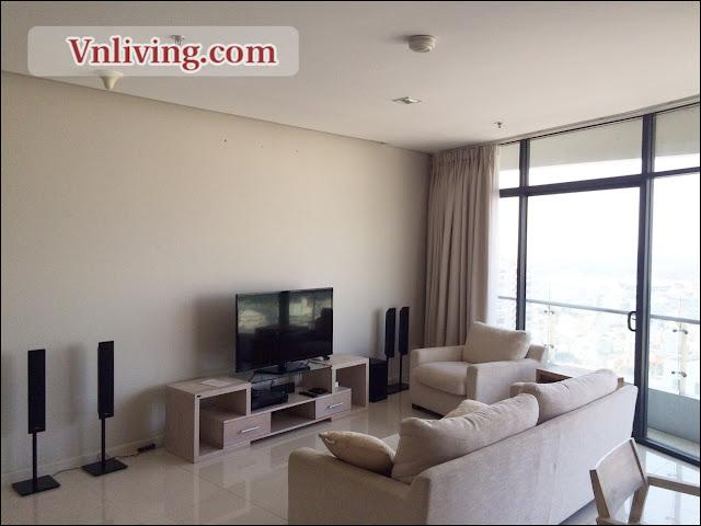 City Garden apartment for rent 2 bedrooms block A highfloor