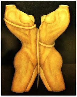 Loide Schwambach - Série Corpos - Frente a Frente
