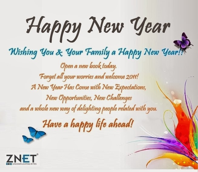 New Quotes For New Year: Happy New Year: New Year Wishes Quotes 2014 Beautiful