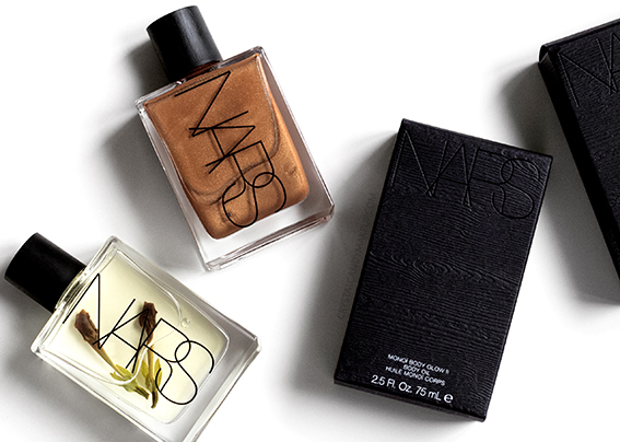 NARS Tahiti Bronze Monoï Body Glow I and II Body Oils Review Photos Swatches
