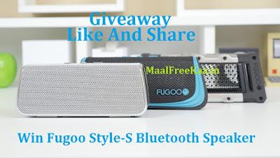 GiveawayFugoo Style-S Speakers