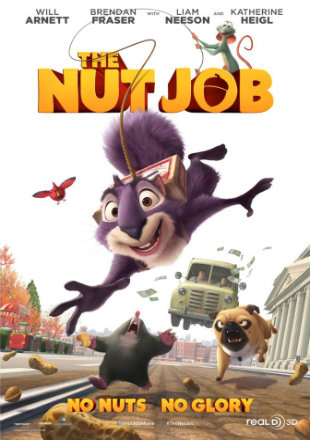 The Nut Job 2014 BRRip 480p Dual Audio 300Mb