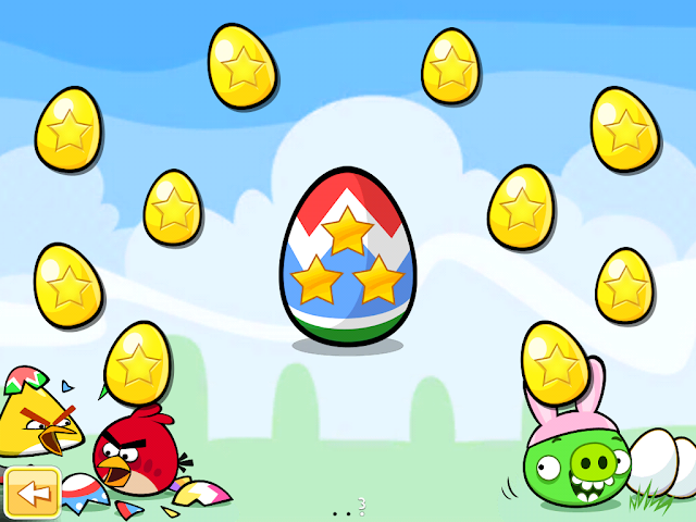 Angry Birds Seasons: Easter Eggs - Golden Eggs
