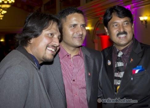 rajesh hamal and madhu bhattarai wedding, deepak raj giri, deepak bista