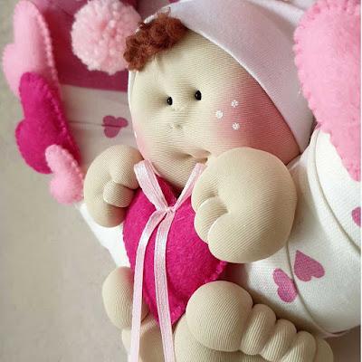 fiocco nascita bambina bambolotto soffice
