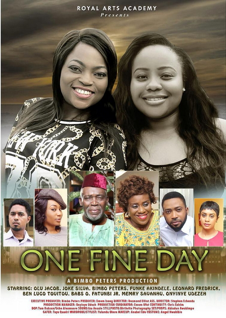 one fine day nigerian movie by bimbo peters premieres