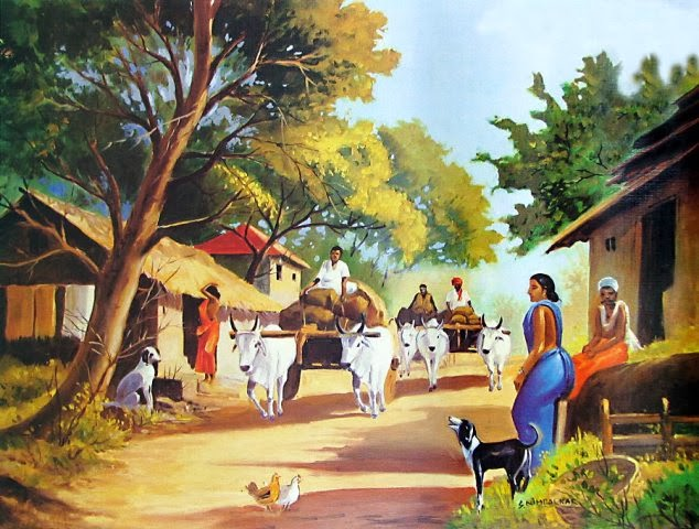 indian-village-scene-QM46_l