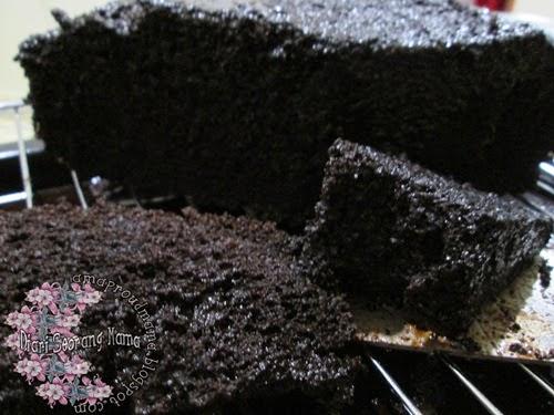 Resepi Kek Coklat Moist Bakar
