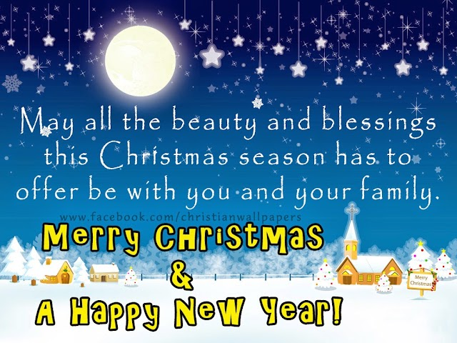 Christmas & New Year Greetings Card