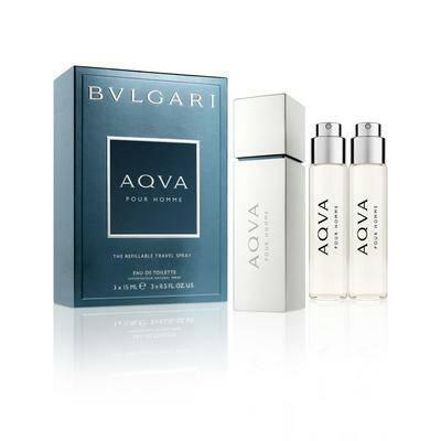 Bvlgari Aqva Pour Homme Travel Spray Set