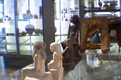A magától forgó egyiptomi szobor