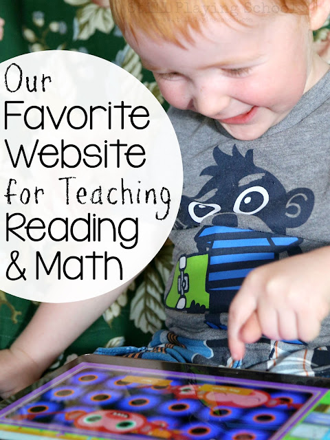 Our favorite website for teaching reading and math!