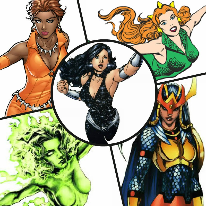 Whos your top 5 hottest DC female characters..... - DC ...   Best Comic Characters