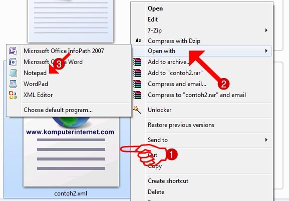 Membuka File XML