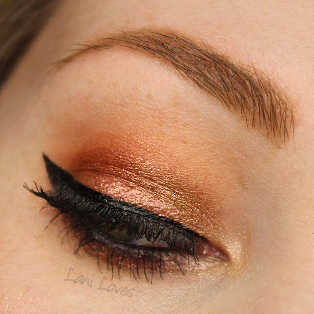 Notoriously Morbid Give the Devil His Due & Eye of the Tiger eyeshadow swatches & review