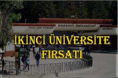 Aöf Destek, İkinci Üniversite, Aöf İkinci Üniversite, ikinci üniversite kayıtları, Aöf Haberler, Haberler,