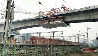 Lucknow Metro's 255m Cantilever Bridge Completed