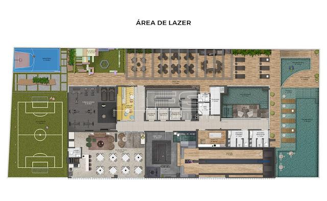 Doha Tower - área de lazer