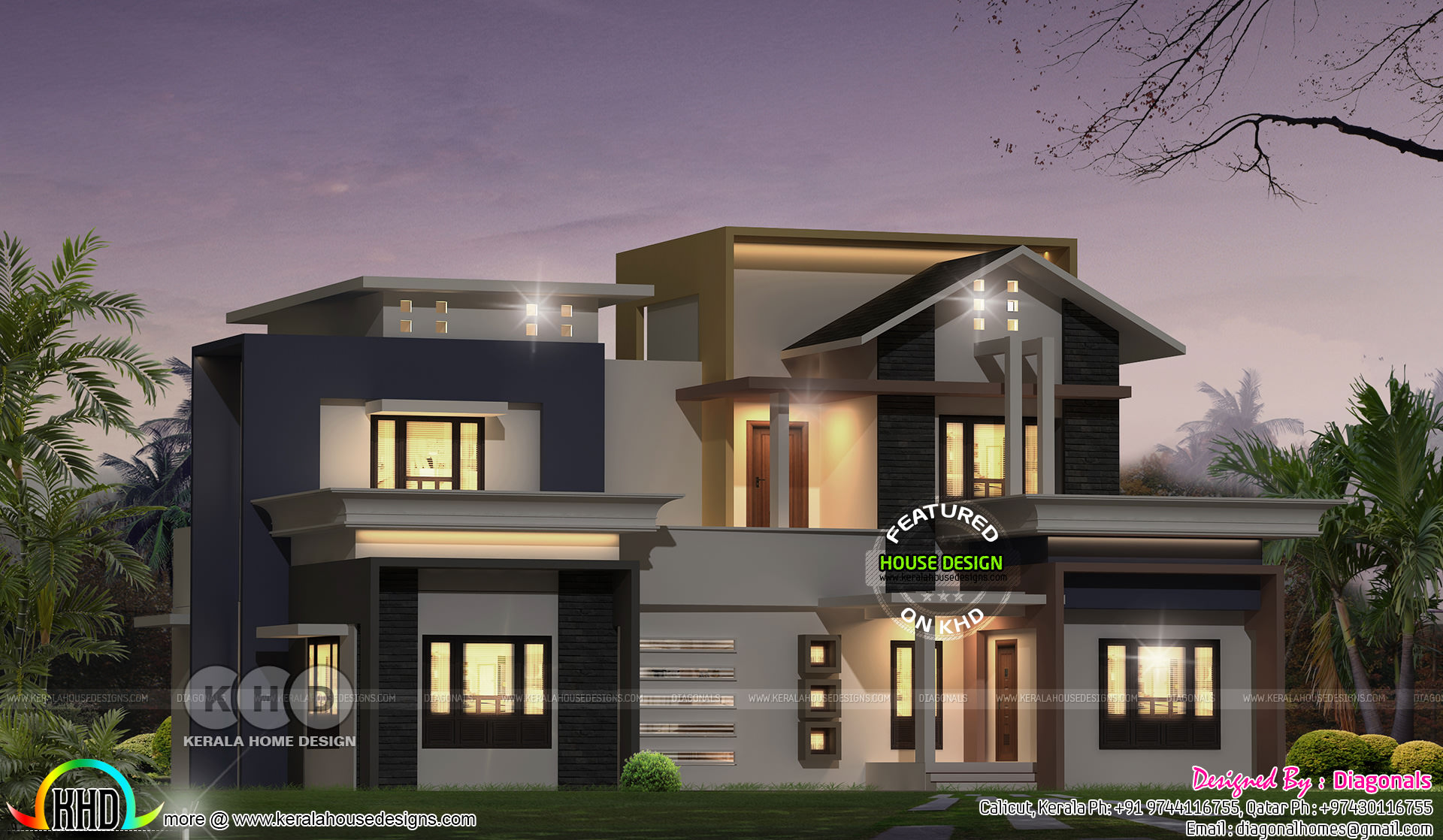 2583 square feet 4 bedroom modern house achitetcure