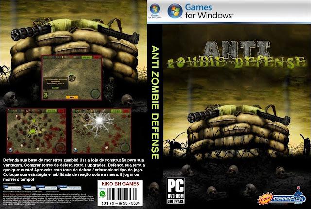 Capa Anti Zombie Defense PC