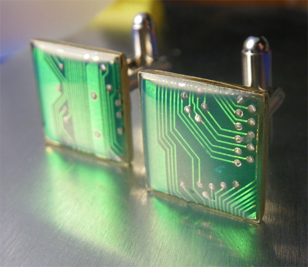 Circuit Board Notebook Creative Ring Bound Notebook Made From An Old