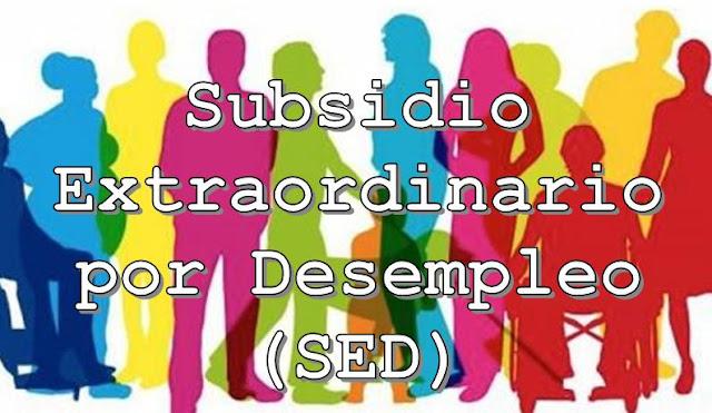 subsidio extraordinario por desempleo