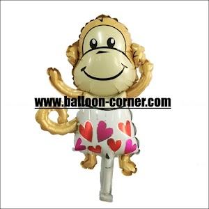 Balon Foil Monyet Mini