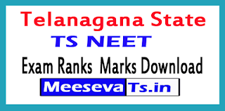 TS NEET Exam Ranks  Marks Download