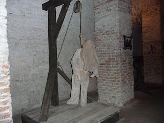 Дубно. Замок. Средневековая пыточная.