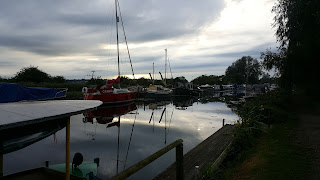 Heybridge Basin on the Chelmer and Blackwater Canal
