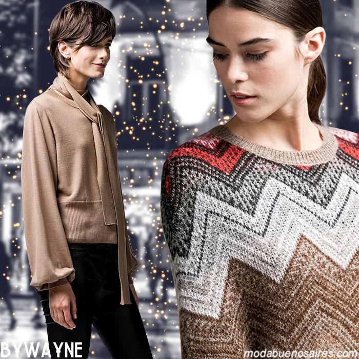 Moda argentina otoño invierno 2019 sweaters tejidos otoño invierno 2019.