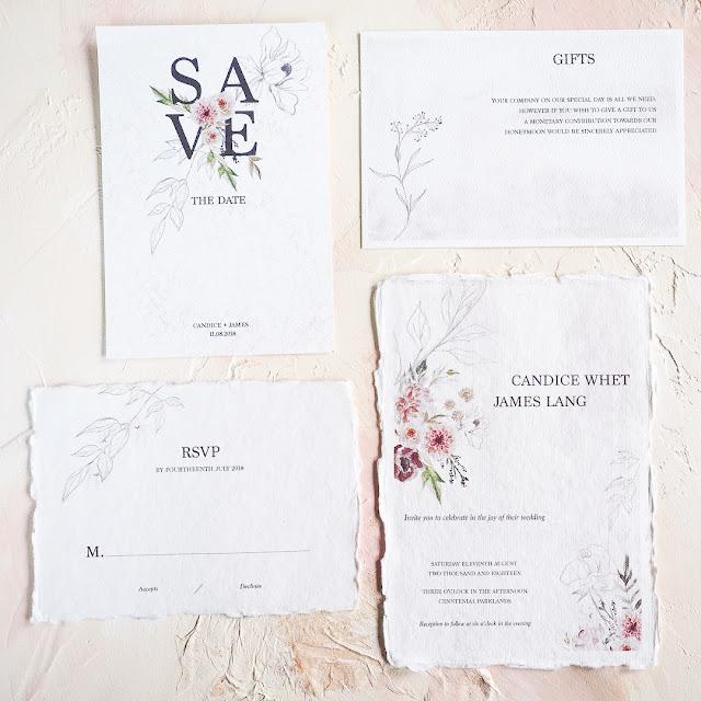 fine art custom handcrafted original wedding invitations stationery invites