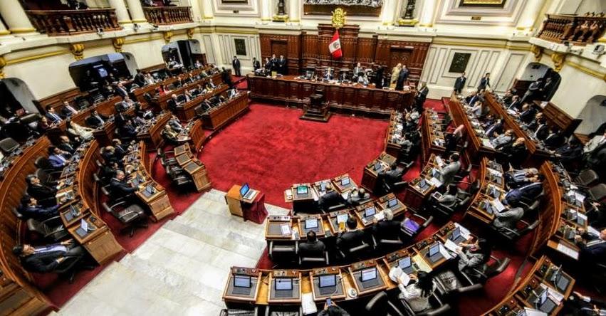 Pleno aprueba No Reelección inmediata de Congresistas