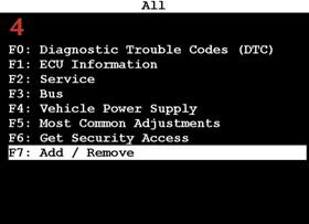 Tech 2 program DLR, add UEC module (manual)4