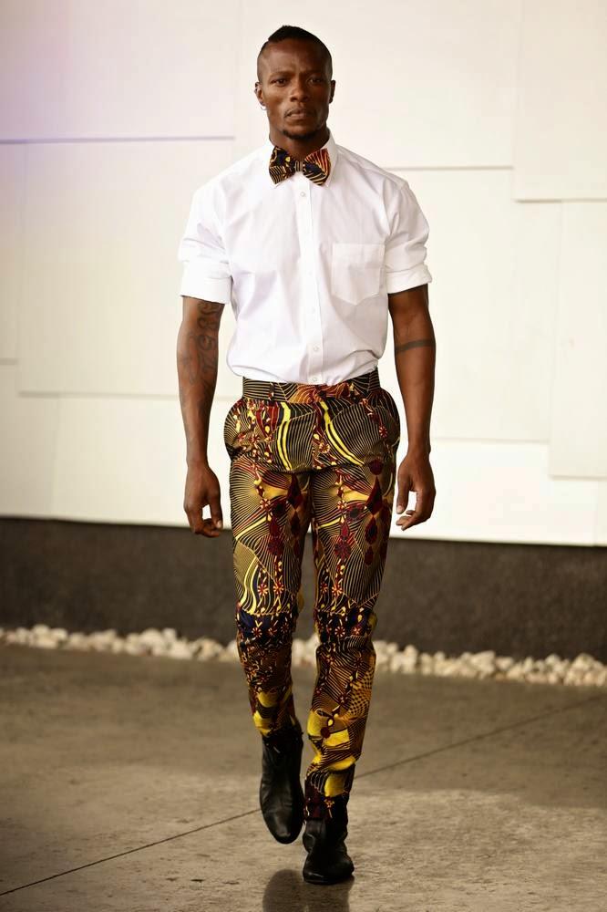david tlale spring summer 2015 mercedes benz fashion week africa male fashion trends. Black Bedroom Furniture Sets. Home Design Ideas