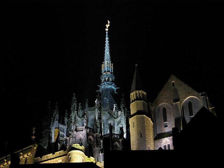 Abadia do Mont Saint-Michel, França