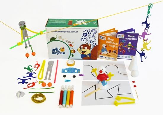 Arte Surpresa - Brinquedos para montar e se divertir