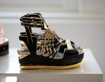 zapatos con plataforma para vestidos