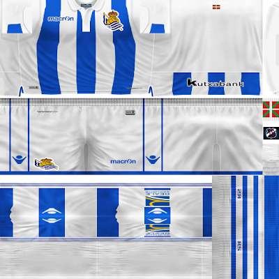 PES 6 Kits Real Sociedad Season 2018/2019 by JeremySvr
