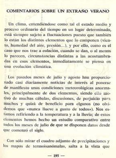 Calendario Del 1977.Meteorologos En La Niebla 1977 El Ano Sin Verano