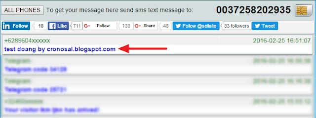Cara Menerima SMS Secara Online Tanpa Handphone