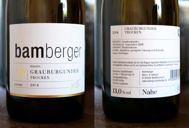 Das neue Vorder- und Rückenetikett für Wein und Sekt aus dem Wein- und Sektgut.