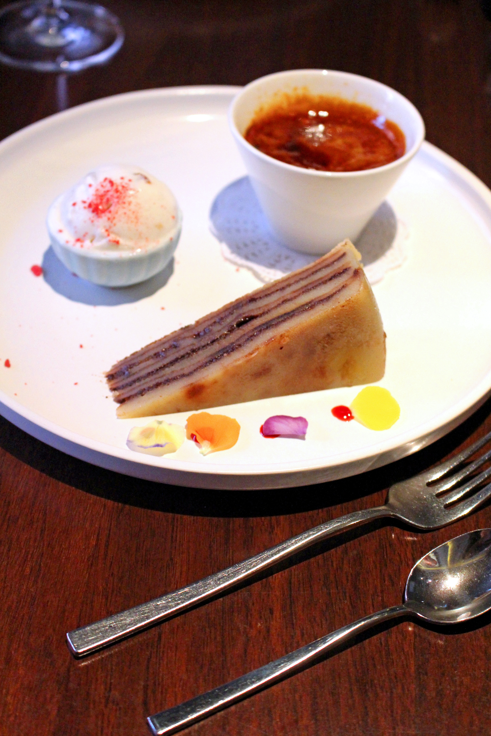 Dessert at Quilon, Michelin-starred Indian restaurant in Victoria, London - UK lifestyle blog