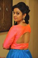 Nithya Shetty in Orange Choli at Kalamandir Foundation 7th anniversary Celebrations ~  Actress Galleries 072.JPG