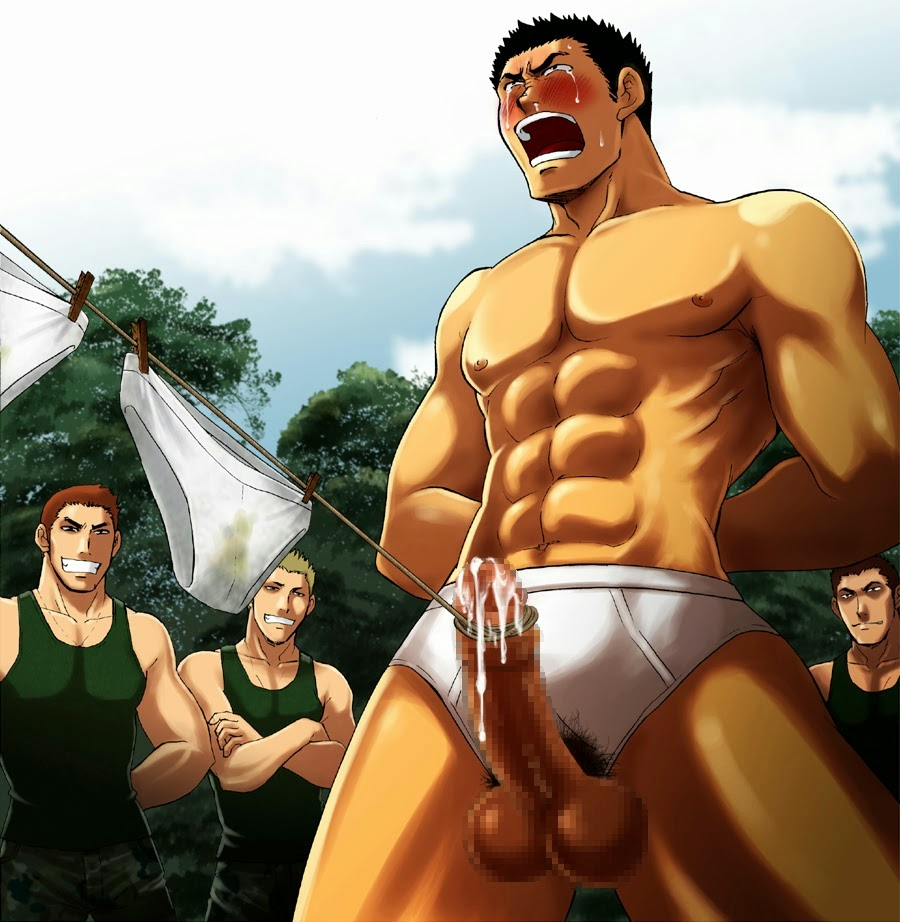 Gay Anime Bara Yaoi Underwear-4453