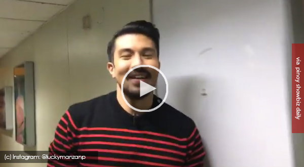 Luis Manzano, sarcastic over ABS-CBN's efforts to put him on the network's Hallway of Stars