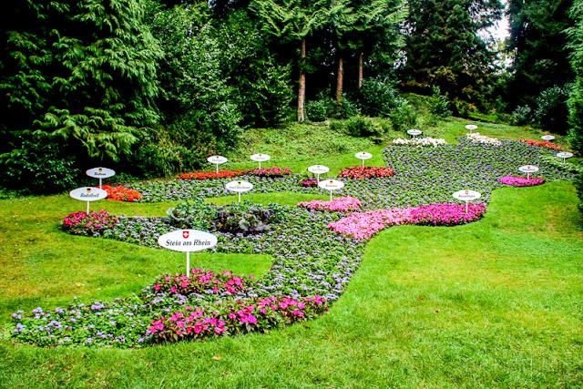 Blumeninsel Mainau, Insel im Bodensee, Blumen